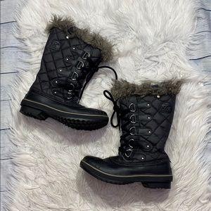 SOREL Tofino Waterproof Insulated Fleece Boots 7